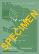 Pro Malmi Certificate of Support - BASIC